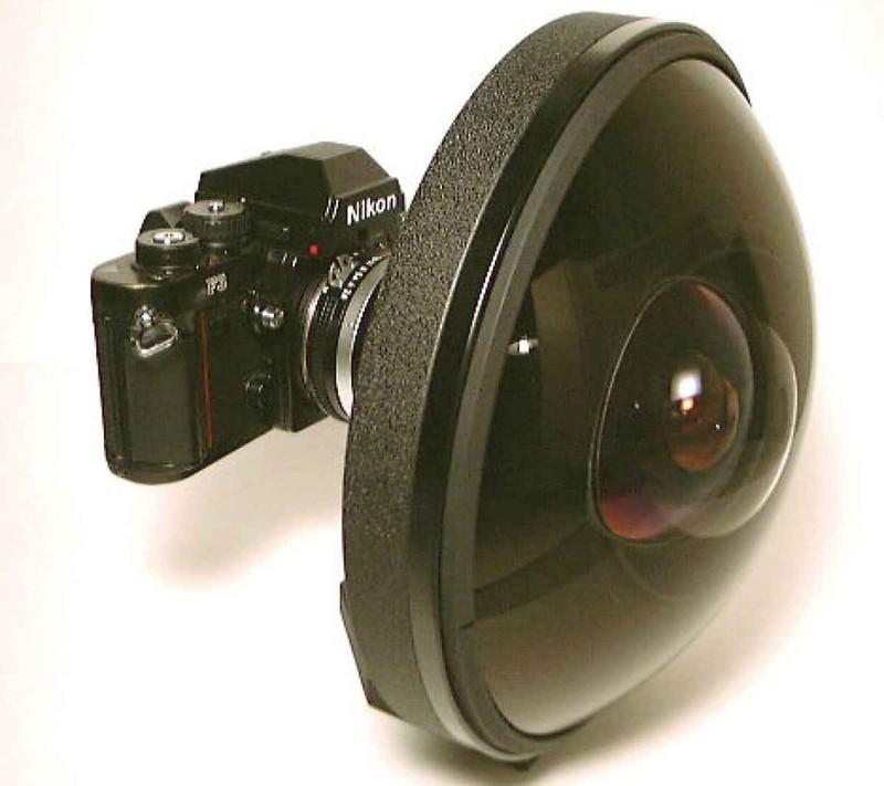 2. Суперширокоугольный объектив «рыбий глаз»: Nikkor 6 мм F/2.8 Легендарный Nikkor 6 мм F/2.8 с поле