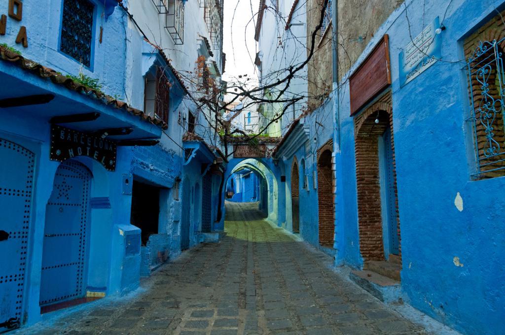 Марокко. Город Шефшауен. (Mark Fischer)