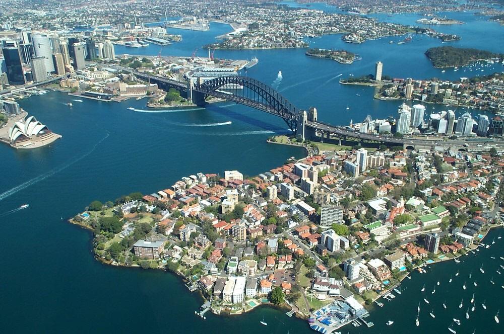 10. Сидней, Австралия .