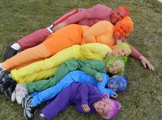 Семейная радуга