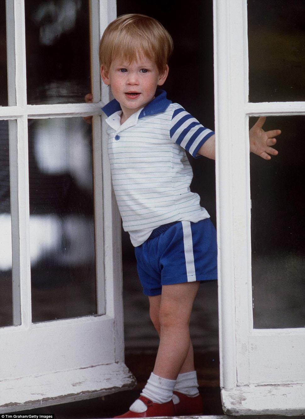 Юный Гарри в Хайгроув-хаус, резиденции королевской семьи в графстве Глостер. Сейчас много разговоров