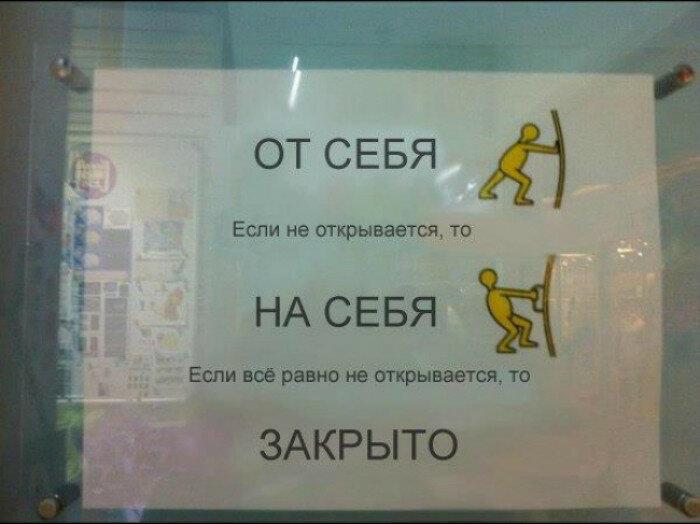 Инструкция по эксплуатации двери