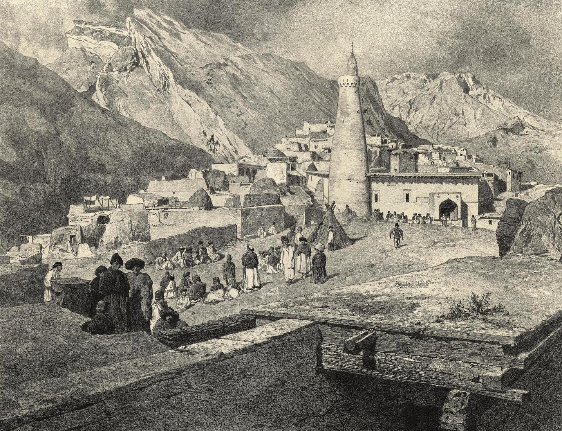 52. Daghestan central. Place de Tsoudakhar / Центральный Дагестан. Цудахар