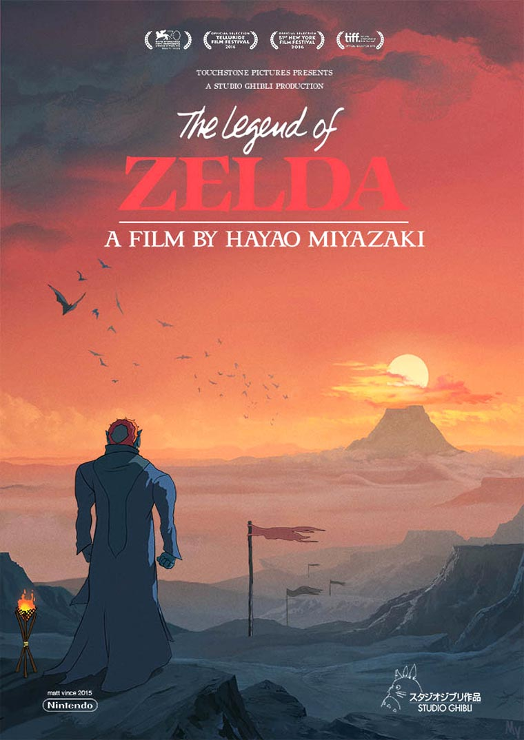 Zelda x Studio Ghibli - If Hayao Miyazaki was creating a movie for The Legend of Zelda