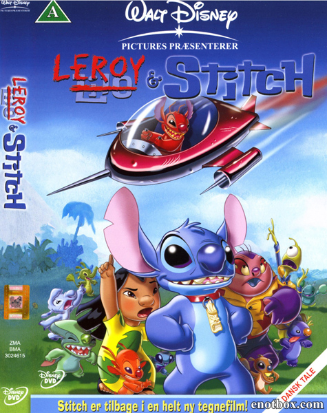 Лерой и Стич / Leroy & Stitch (2006/WEB-DL/WEB-DLRip)