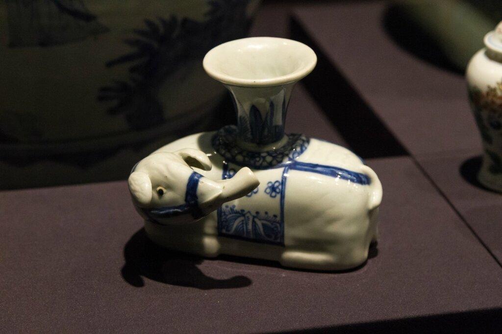 Тушечница со слоном, Музей района Хайдянь