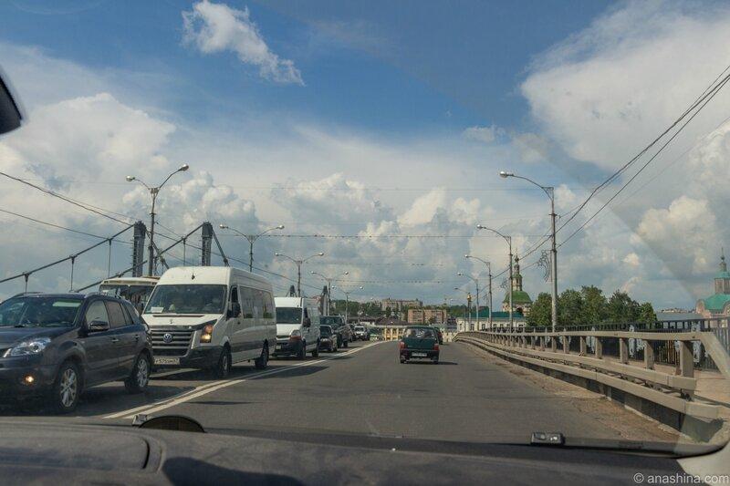 Мост через Днепр, Смоленск