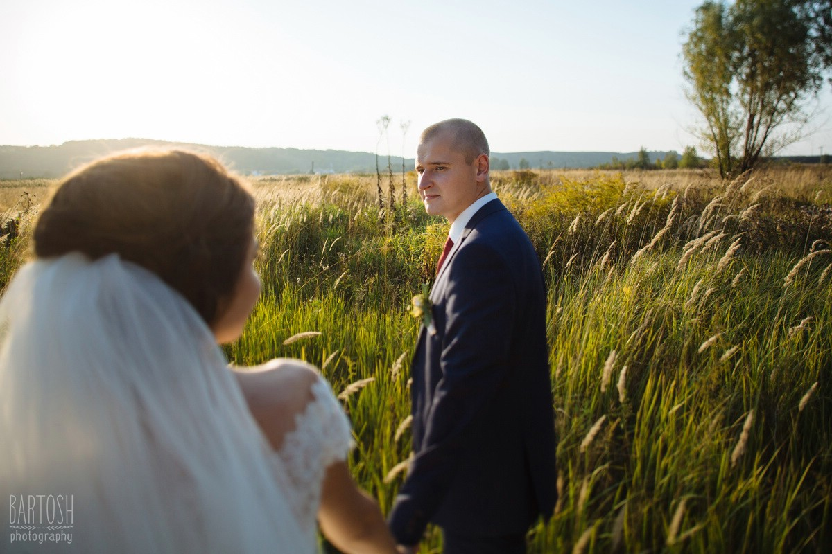 Свадебные фотографии Виктории и Николая