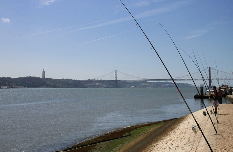 Лиссабон, река Тежу (Lisbon, the Tagus river)