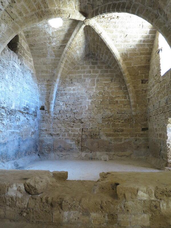 Фамагуста. Крепость. Реставрированный восточный свод помещения 5