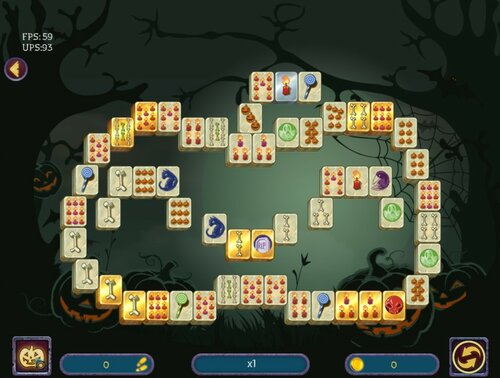 Halloween Night 2 Mahjong