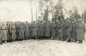 150. 1917. Офицеры Гроховского полка