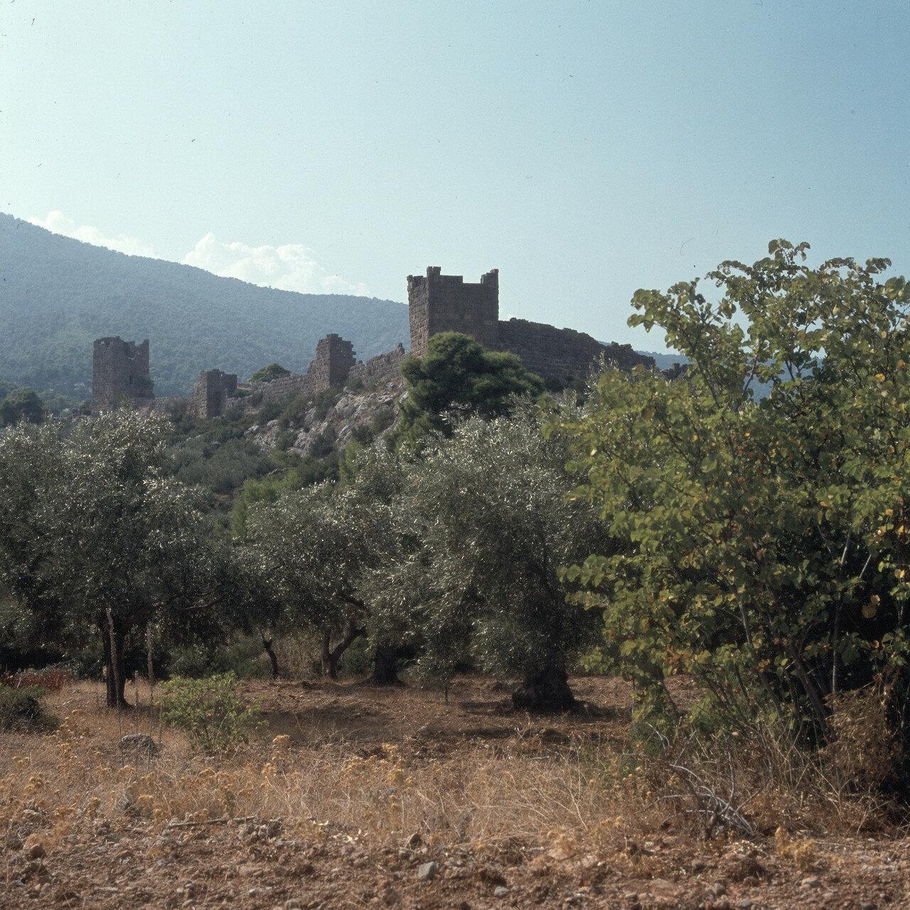 Порто Гермено. Эгосфены. Акрополь Эгосфен. Мегарская пограничная крепость IV-III вв. до н.э.