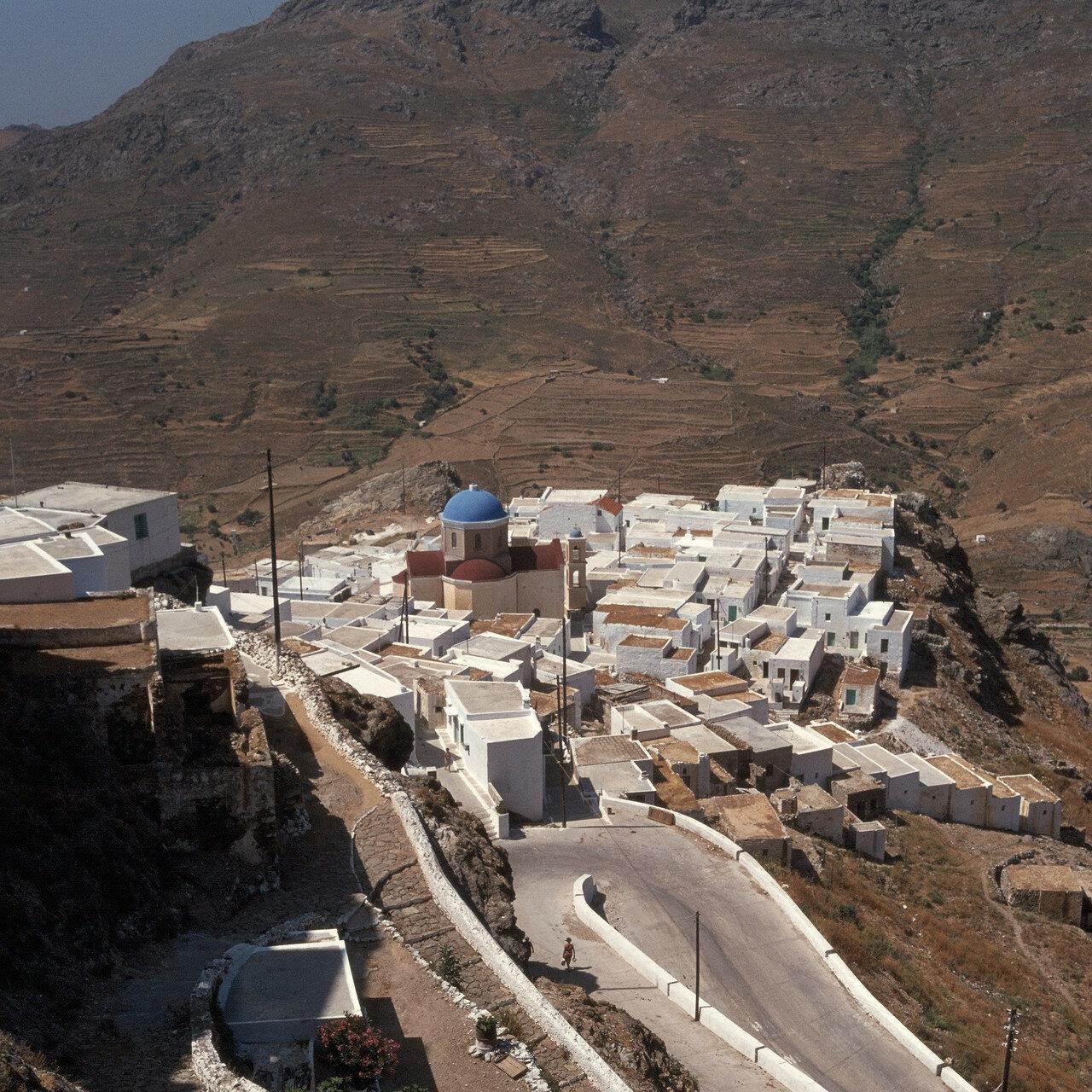 Серифос. Кубические дома под Кастро