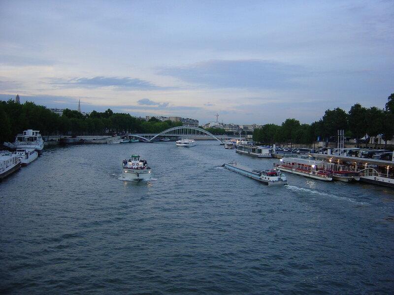 Франция, Париж, Сена
