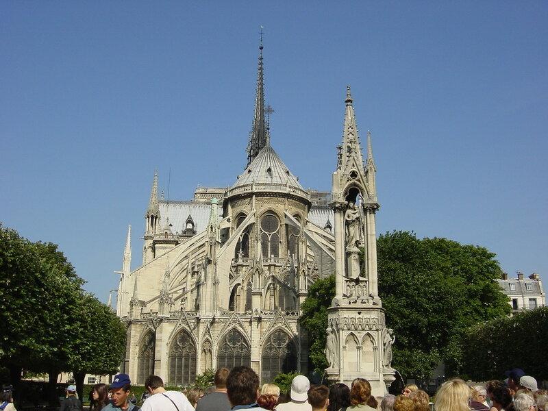 Франция, Париж, Notre-Dame de Paris - Собор Парижской Богоматери