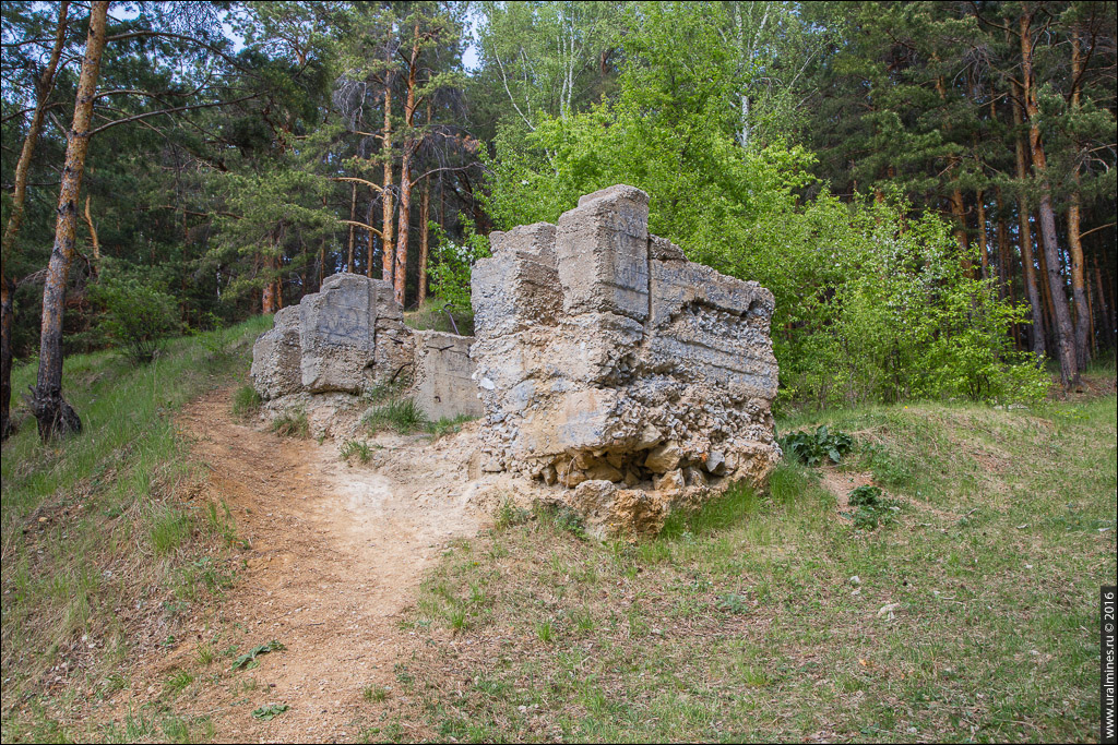 Закаменный железный рудник Каменского завода