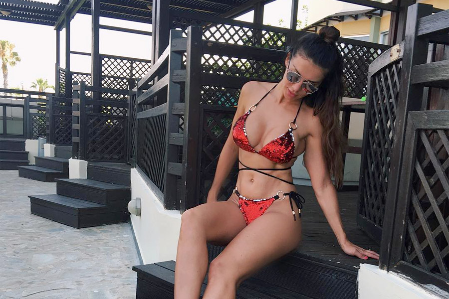 Анна Седокова - самая красивая на пляже