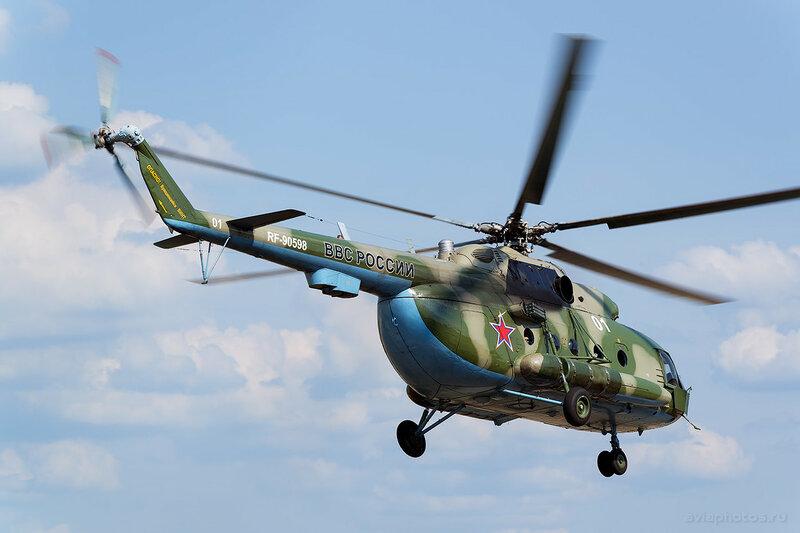 Миль Ми-8МТВ-2 (RF-90598 / 01 белый) ВКС России 0920_D806301