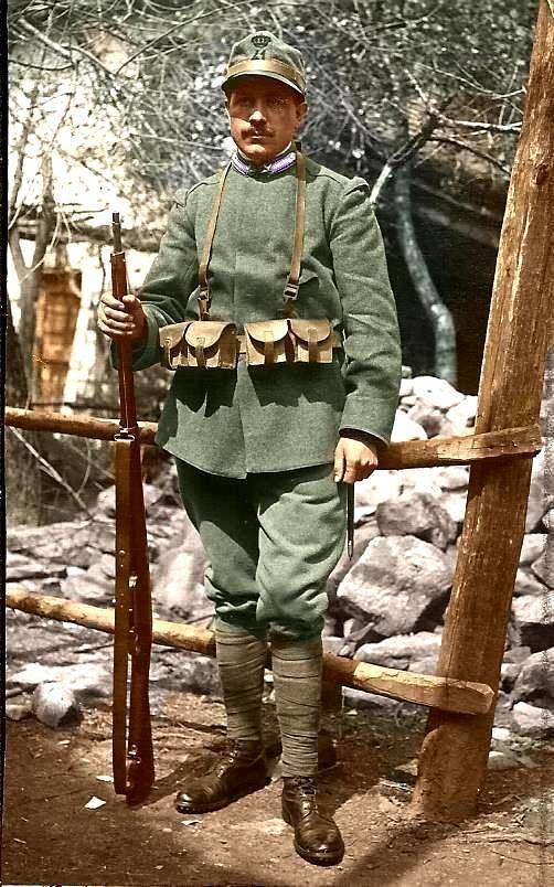 """""""Шеф, все пропало!"""". Итальянцы. Декабрь 1917 года."""