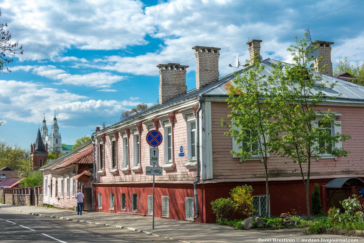 Полоцк. улица Нижне-Покровская
