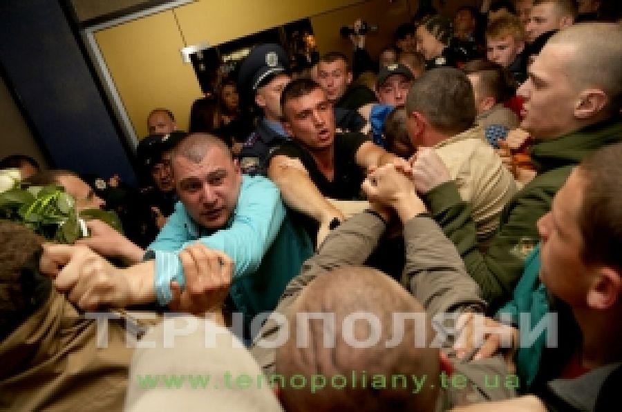 Активисты блокировали российский попсовый концерт в Тернополе