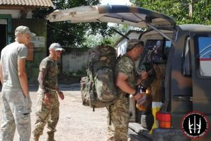 Бойцы из Учебного центра ДУК ПС выдвинулись на передовую