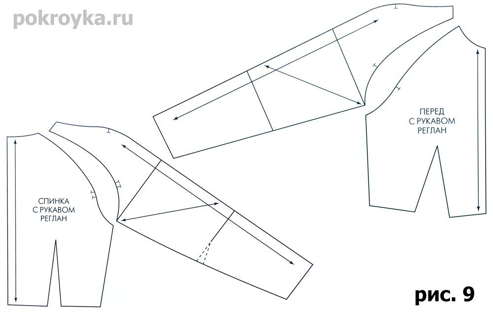 инструкция детские пошаговая выкройки