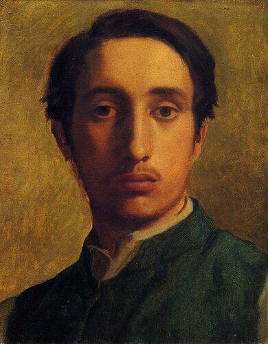 Degas in a Green Jacket - 1855-1856 - PC.jpg