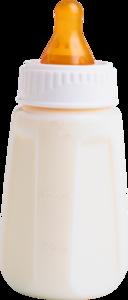 бутылка с молоком
