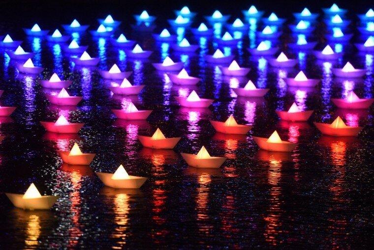Light City: фотографии красочного фестиваля огней в Балтиморе 0 22c11d ba383b68 XL