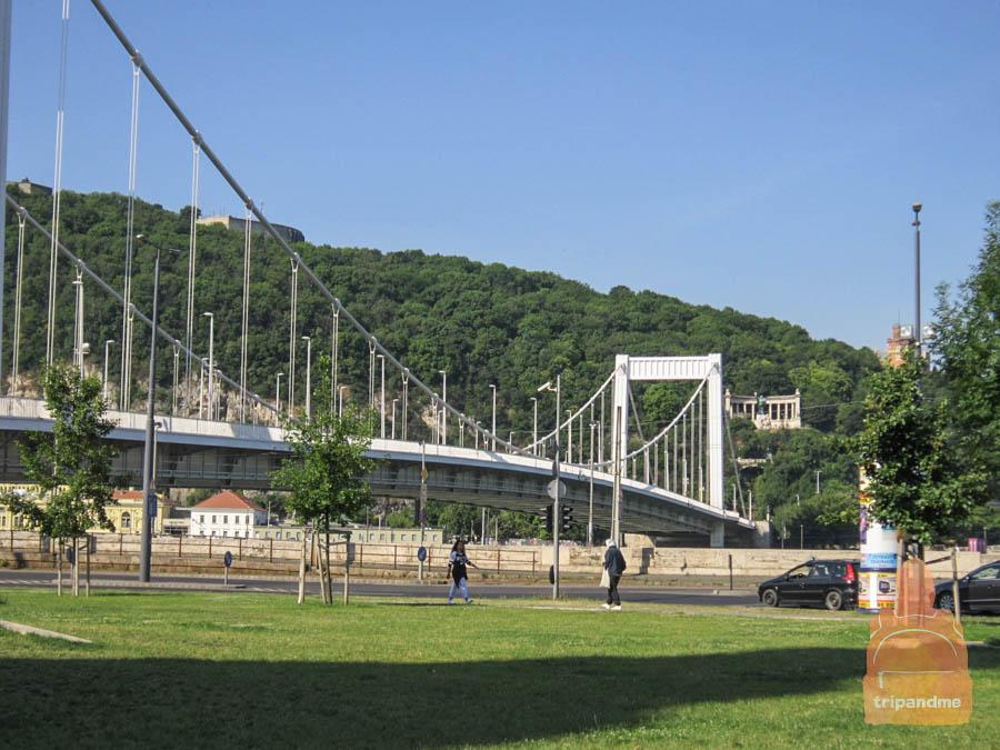 Мост назван в честь императрицы Австро-Венгрии