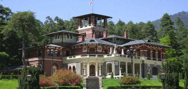 Дворец был построен в конце XIX века