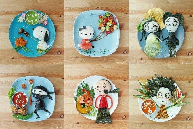 Ли Саманта не просто готовит еду, а рассказывает истории