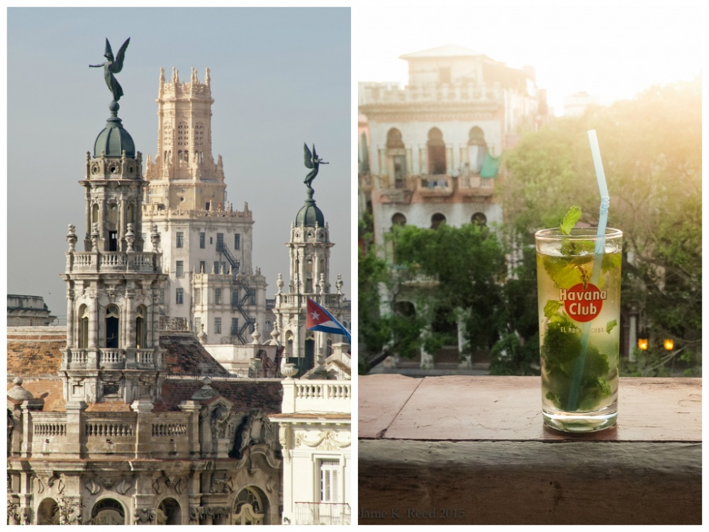 Самые известные коктейли наоснове кубинского рома— Куба либре, Дайкири иМохито. После насыщенного