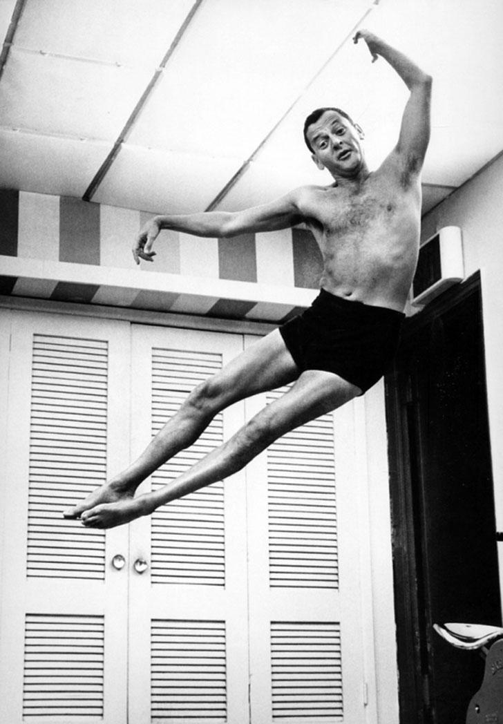 Певец, актер и шоумен Фрэнк Синатра.
