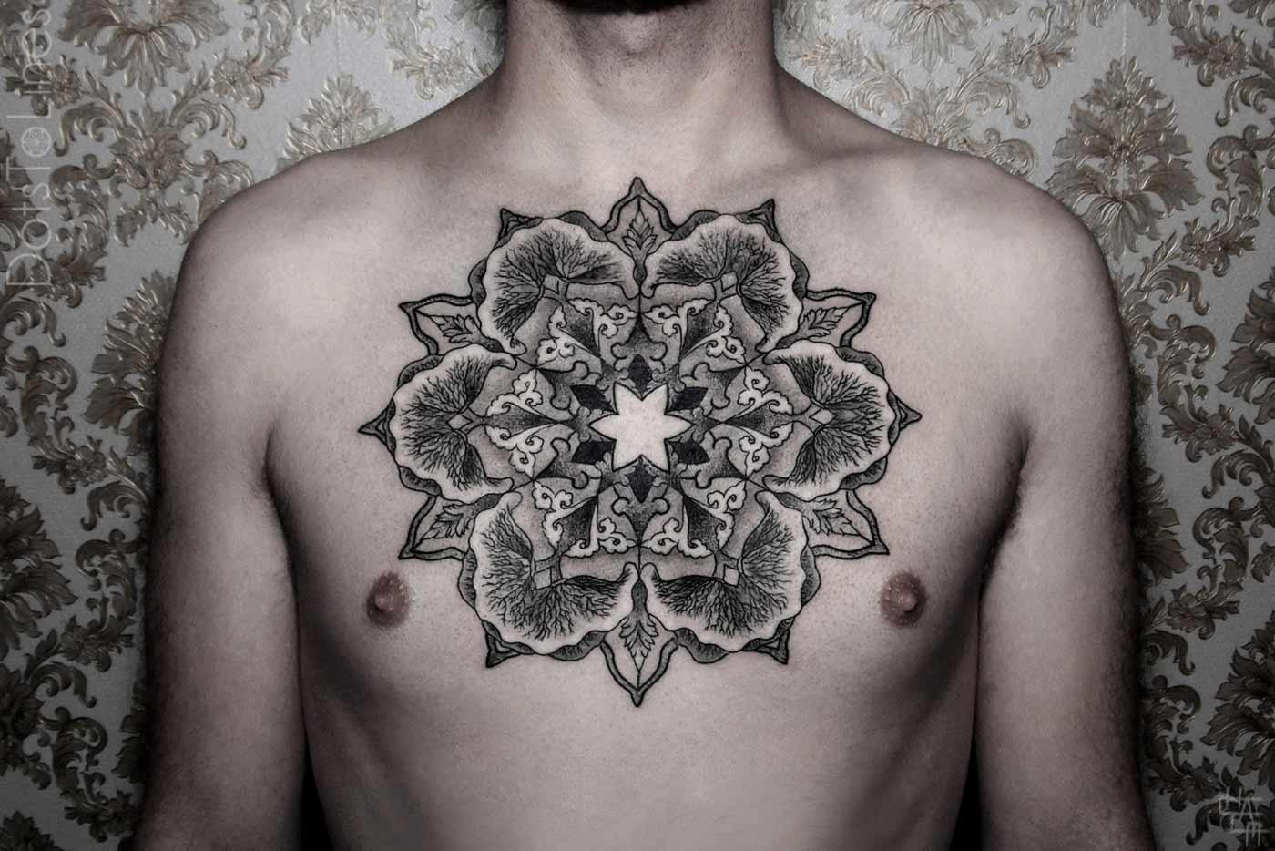 Геометрия татуировки