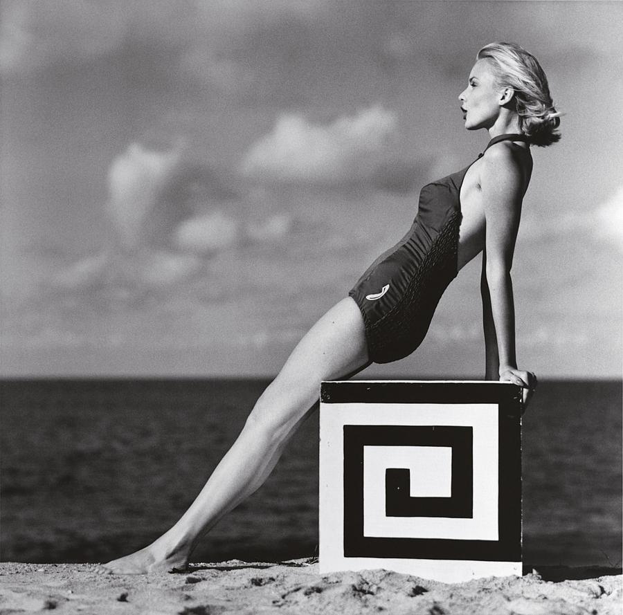 6. Криста Фогель, Зильт, 1958 год. Фотограф Франц Гундлах.