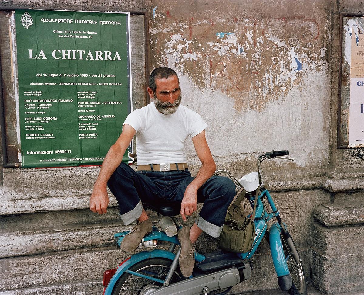 8. Флоренция, 1982. (Charles Traub)