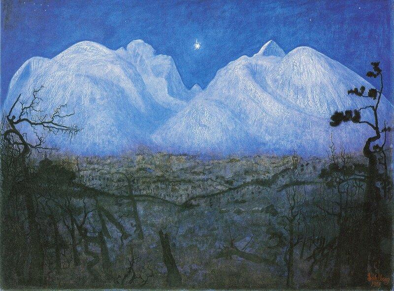 Sohlberg - Vinternatt, 1901