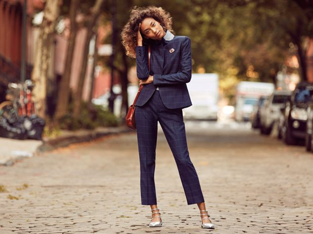 Anais Mali, Kel Markey & Ollie Edwards Star in Banana Republic FW16 (10 pics)