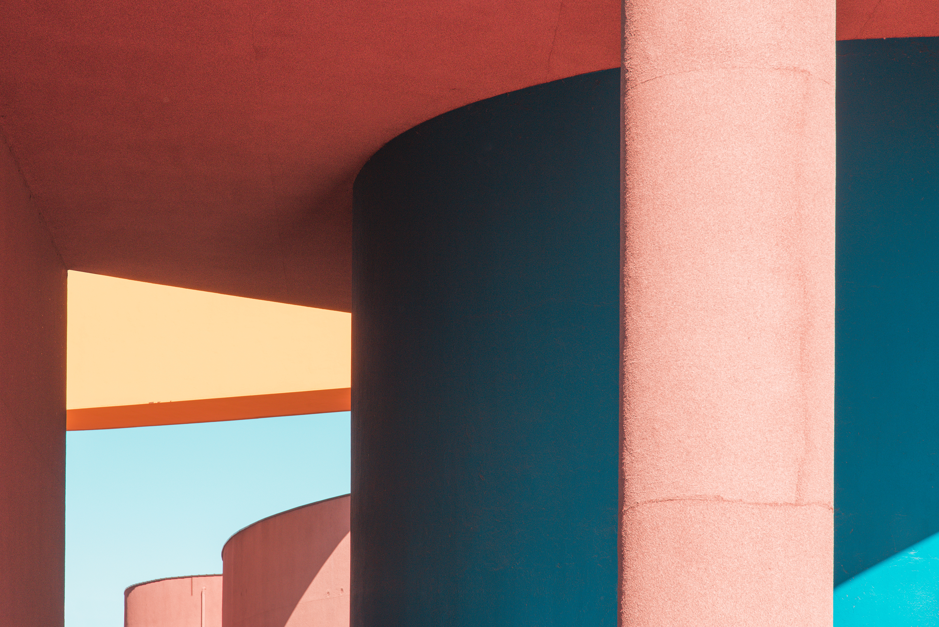 Colourful and Geometric Architecture Pictures