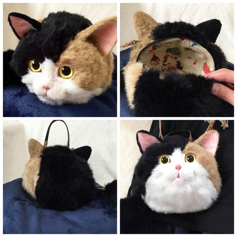 Cat Bags - Some amazing handbags shaped as cute and realistic cats