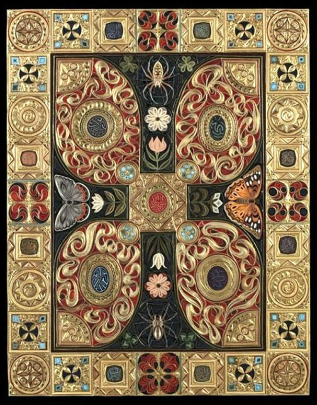 Квиллинговые ковры Lisa Nilsson