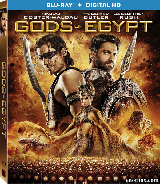 Боги Египта / Gods of Egypt (2016/BDRip/HDRip/3D)