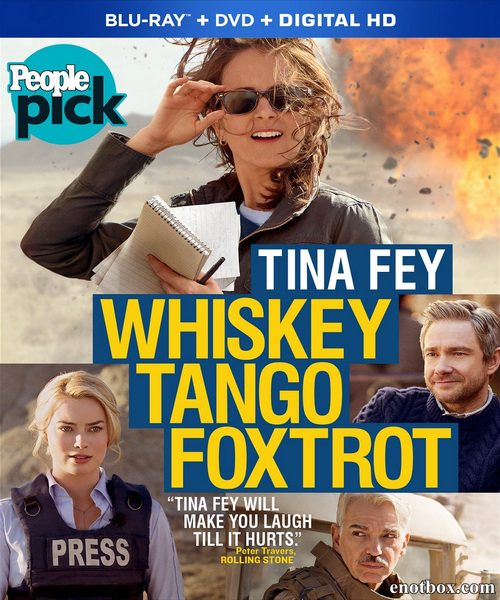 Репортерша / Whiskey Tango Foxtrot (2016/BDRip/HDRip)