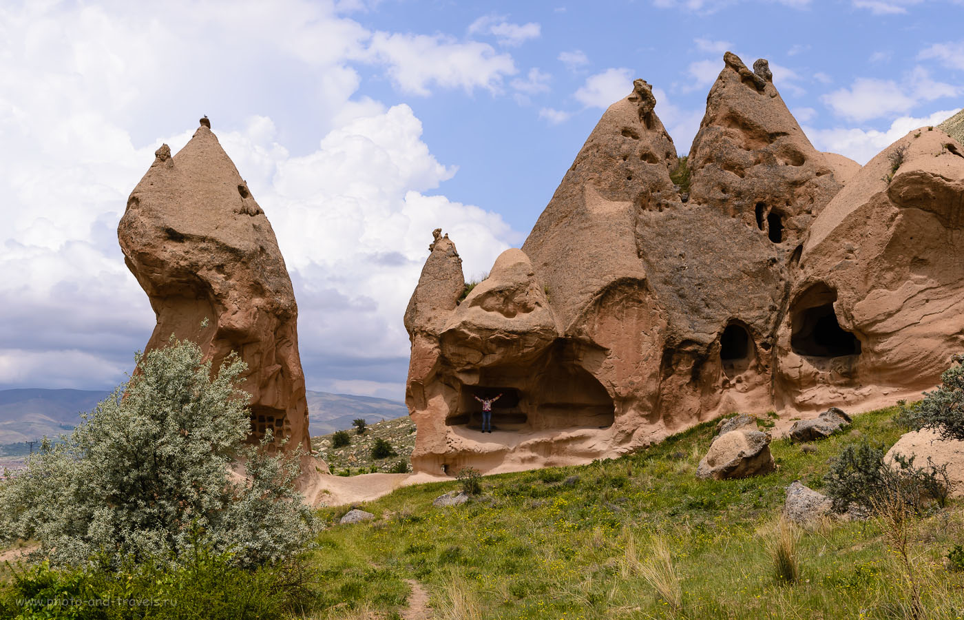 Фото 13. Пещеры в долине Зельве. Что можно посмотреть в Каппадокии. Отчеты туристов об отдыхе в Турции дикарями. 1/1250, -1.0, 8.0, 160, 48.