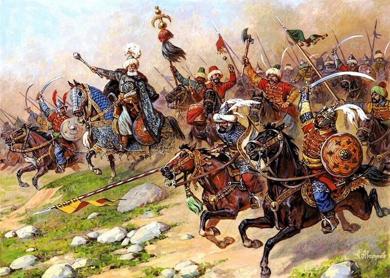 О битве при Молодях. 1572 год. Turkishcavalryxviictave.jpg