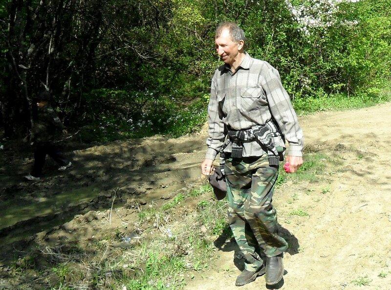 Апрель, в походе, путь к водопадам, окрестности Горячего Ключа (9).JPG