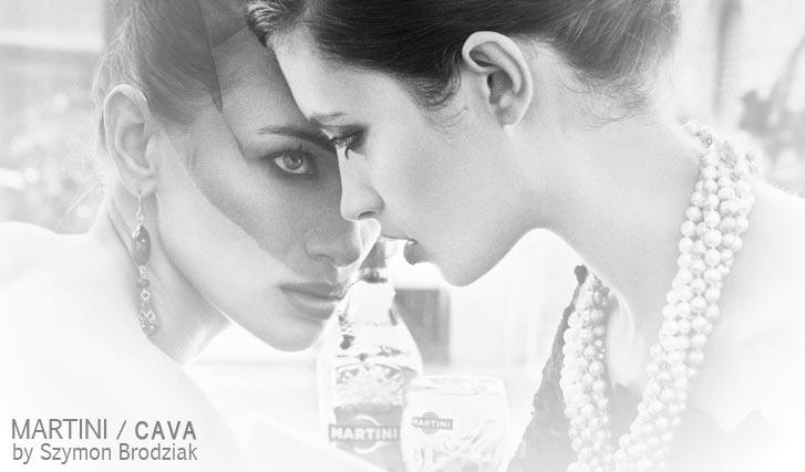 Anna Milkiewicz & Aleksandra (Ola) Podgorska by Szymon Brodziak - Martini Cava
